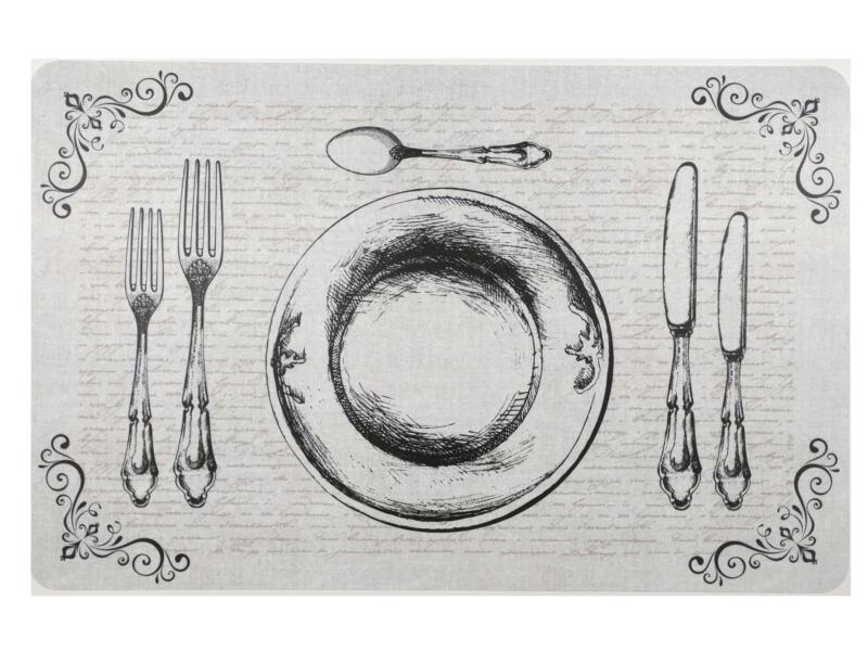 Finesse Set de table 29x44 cm couverts