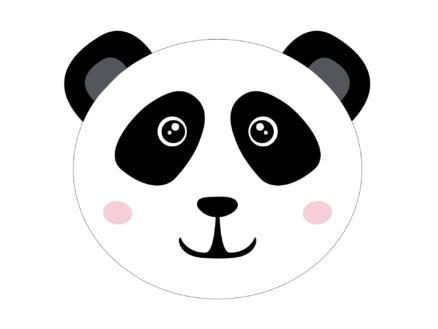 Finesse Set de table rond 38cm panda