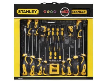 Stanley Set de tournevis 42 pièces