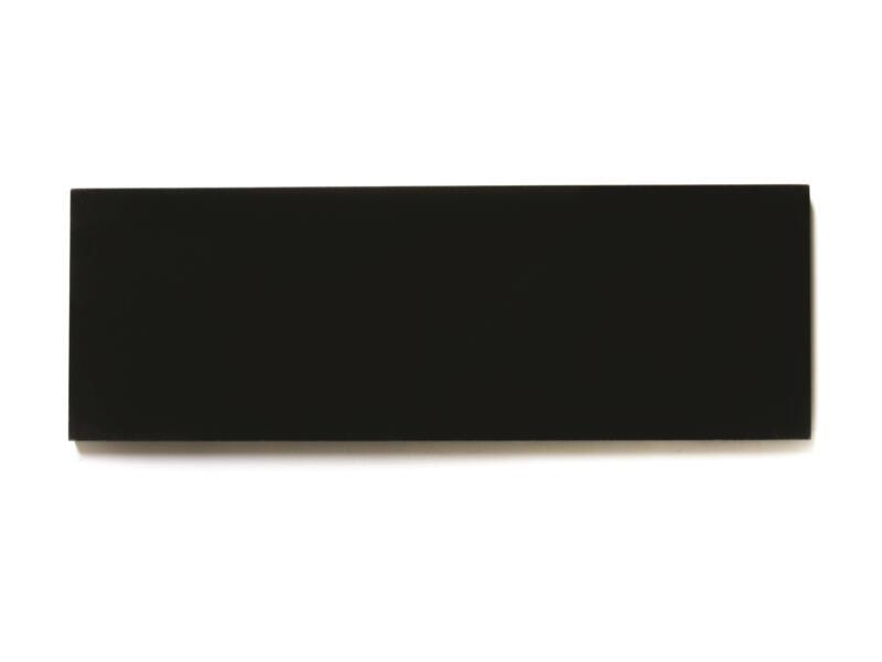 Seuil de porte 90x11x2 cm granit noir