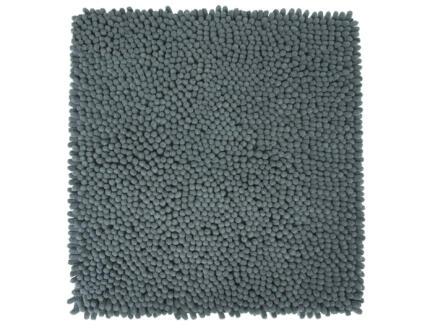 Differnz Shaggy badmat 60x60 cm grijs