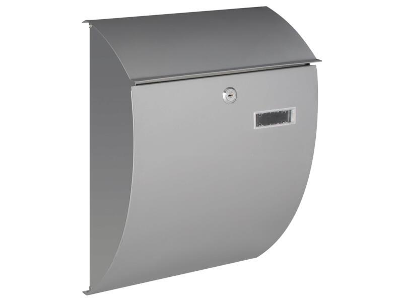 Practo Garden Sheffield brievenbus gelakt staal grijs