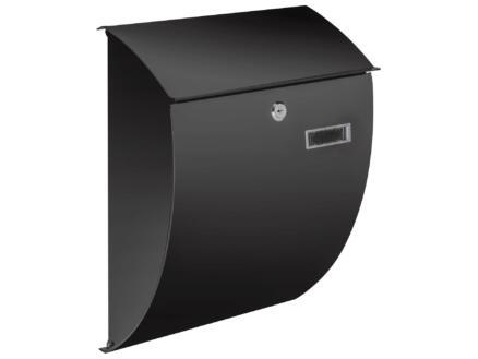 Practo Garden Sheffield brievenbus gelakt staal zwart