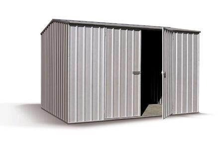 Shelby tuinhuis 300x152x195 cm met dubbele deur metaal
