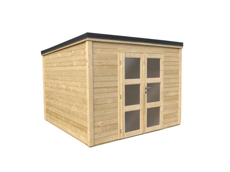 Shelty+ Modern tuinhuis 330x280 cm hout