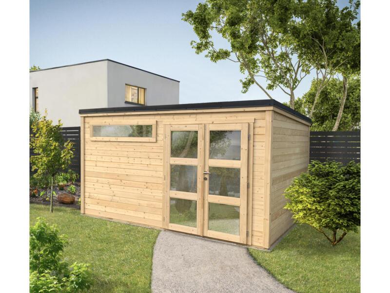 Shelty+ Modern tuinhuis 395x280 cm hout