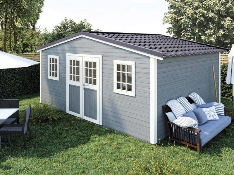 Shelty abri de jardin 498x395x297 cm bois