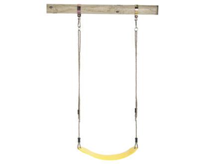 Siège de balançoire 66cm flexible jaune