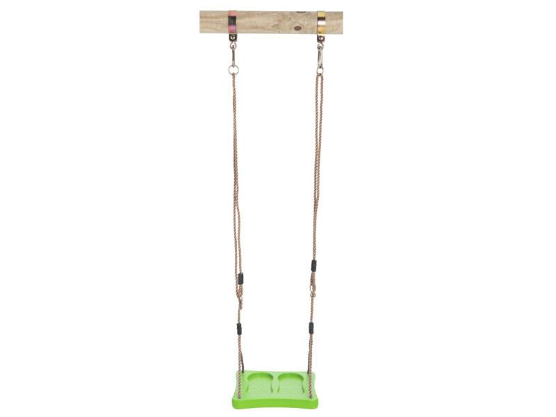 Siège de balançoire pieds citron vert