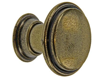Sam Siertop antiek 30x26 mm brons