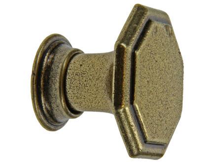 Sam Siertop antiek 31x25 mm brons
