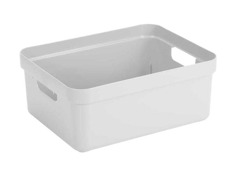 Sunware Sigma Home bac de rangement 24l blanc