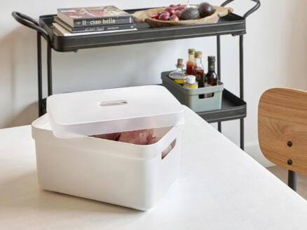 Sunware Sigma Home boîte de rangement 5l blanc 3 pièces + couvercle