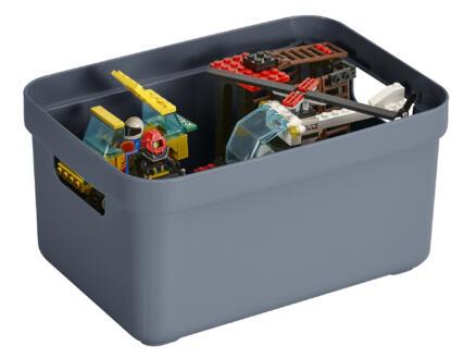 Sunware Sigma Home boîte de rangement 5l bleu foncé