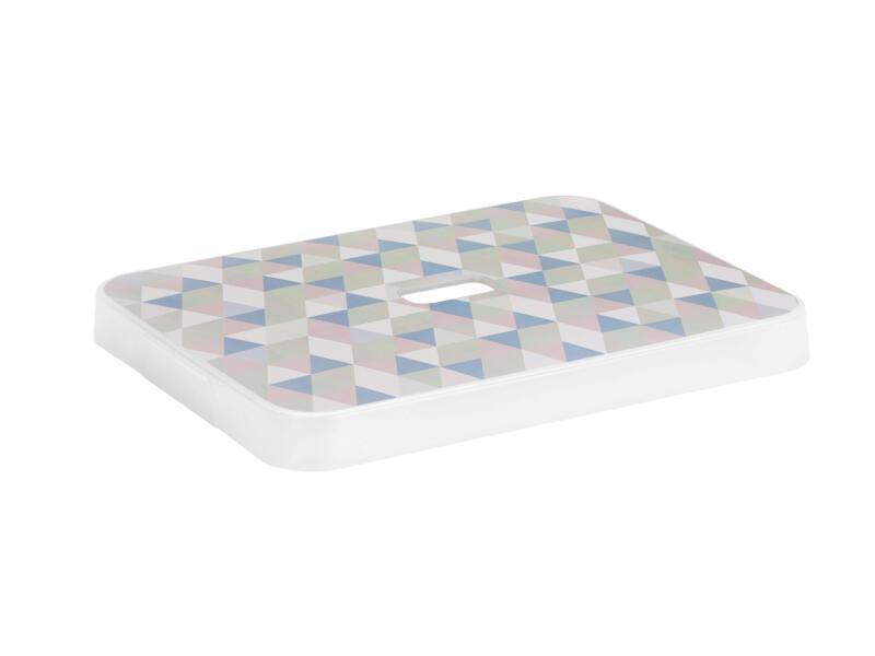 Sunware Sigma Home couvercle 24l/32l triangles