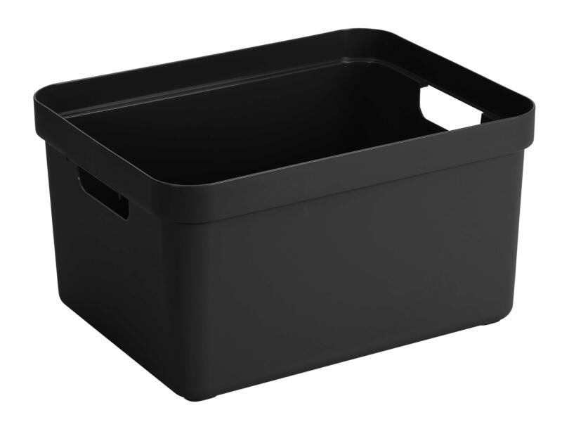 Sunware Sigma Home opbergbox 32l zwart
