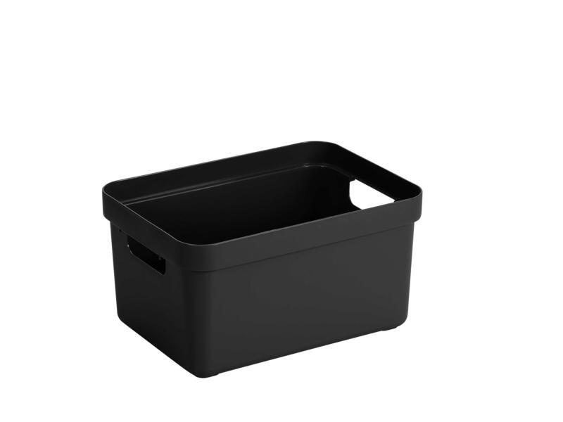 Sunware Sigma Home opbergbox 5l zwart