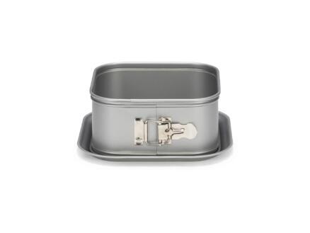 Silver Top springvorm taart vierkant 16x16 cm