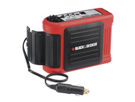 Black+Decker Simple booster de batterie 12V 5A