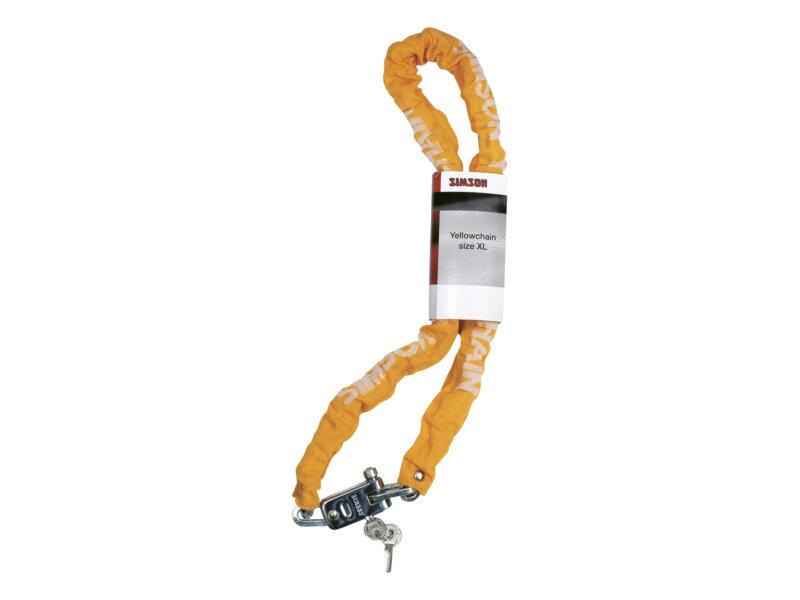 Simson Yellowchain chaîne antivol à maillons 120cm