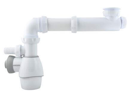 Wirquin Siphon lavabo tout-en-un 32-40 mm