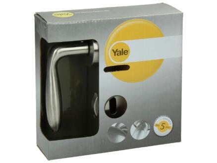Yale Sky BB poignée de porte avec rosaces 51mm set complet inox
