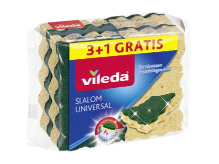 Vileda Slalom Universal éponge à récurer 3+1