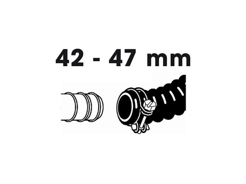 Slangklem 42-47 mm 2 stuks