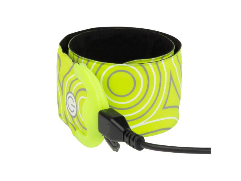 Nite Ize SlapLit LED armband geel oplaadbaar