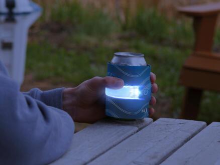 Nite Ize SlapLit LED drankwrap blauw