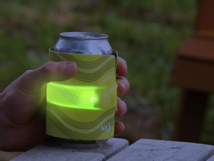 Nite Ize SlapLit LED drankwrap groen