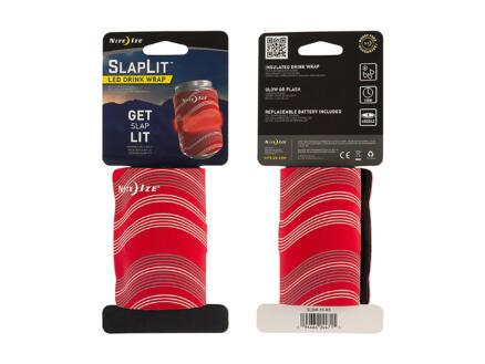 Nite Ize SlapLit LED drankwrap rood