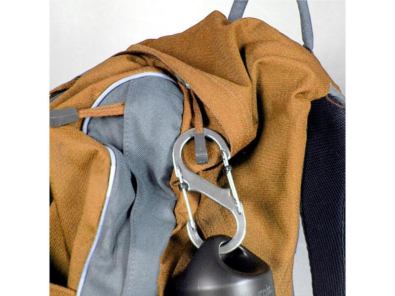 Nite Ize SlideLock S-Biner mousqueton S 40,64x91,44 mm inox
