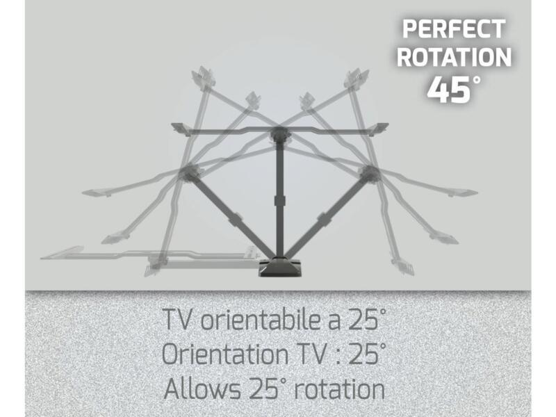 Slimstyle Plus 400SR TV beugel voor flatscreen kantelbaar 40