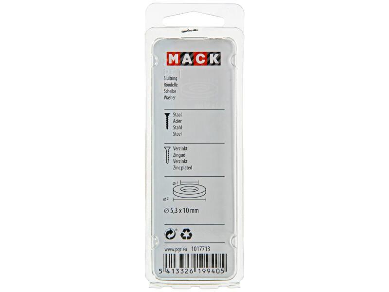 Mack Sluitringen 5,3x10 mm verzinkt 50 stuks