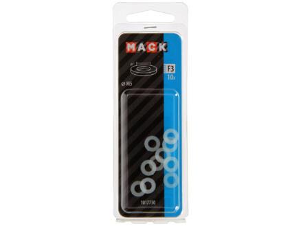 Mack Sluitringen 5mm nylon 10 stuks