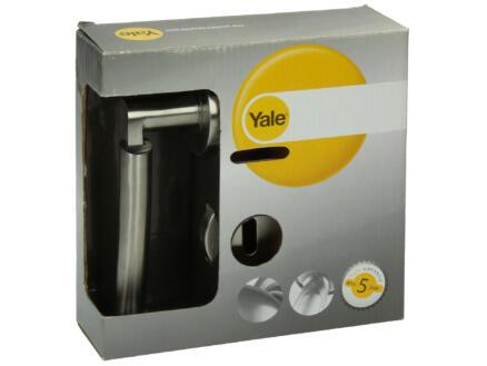 Yale Smart BB poignée de porte avec rosaces 53mm set complet inox