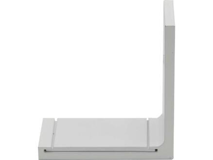 Smart wandsteun gordijnrails 6,5cm wit