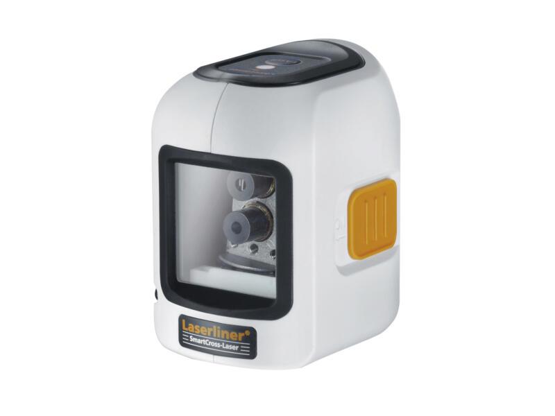 Laserliner SmartCross-Laser niveau laser en croix automatique set complet