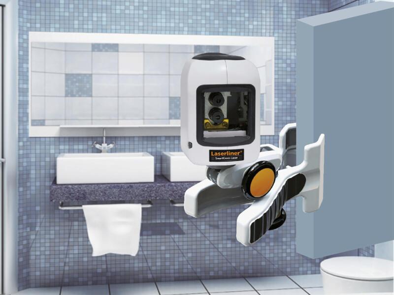 Laserliner SmartCross niveau laser en croix automatique