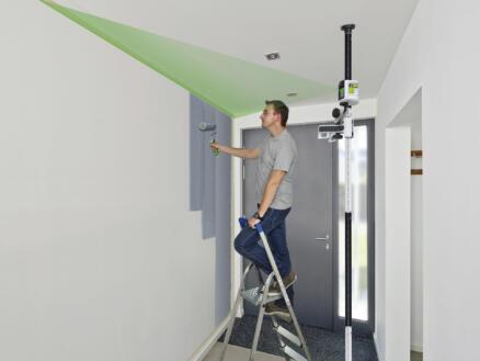 Laserliner SmartVision-Laser Green niveau laser en croix + fixation