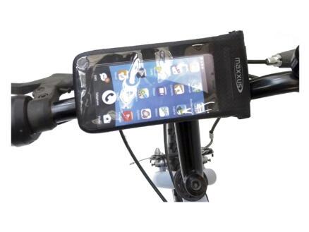 Maxxus Smartphonehouder fiets waterdicht zwart