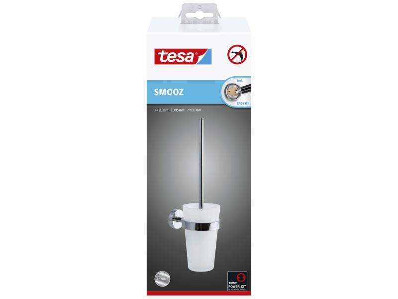 Tesa Smooz WC-borstel met houder chroom
