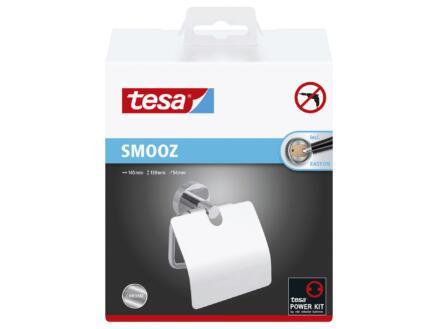Tesa Smooz WC-rolhouder met deksel chroom