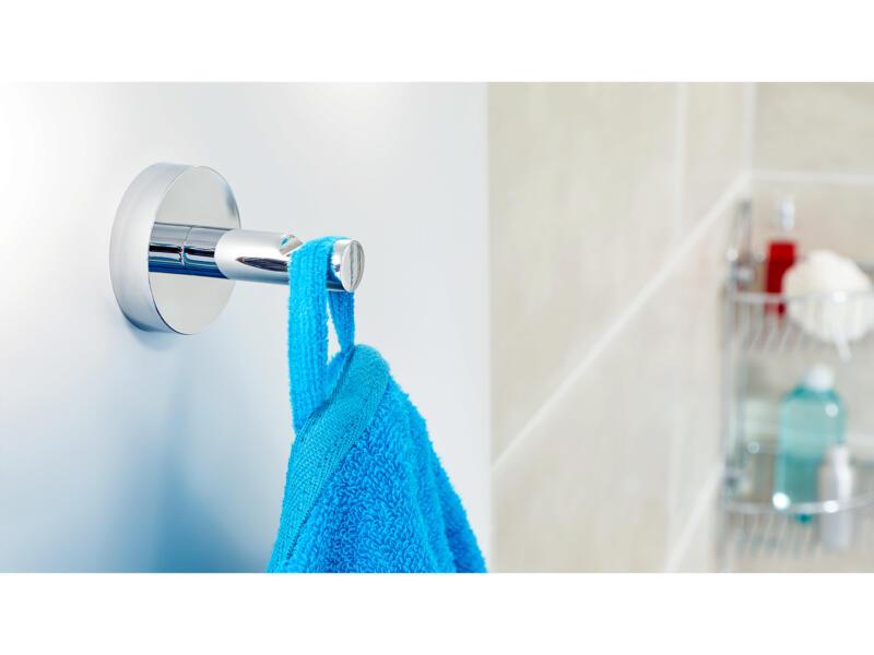 Tesa Smooz handdoekhaakje zelfklevend 49x60 mm chroom
