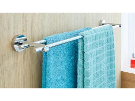 Tesa Smooz handdoekhouder chroom zelfklevend 50x640x115 mm