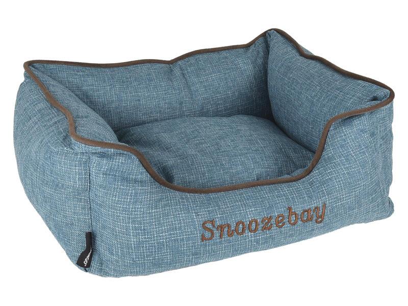 Snoozebay panier pour chien 50x40x18 cm bleu