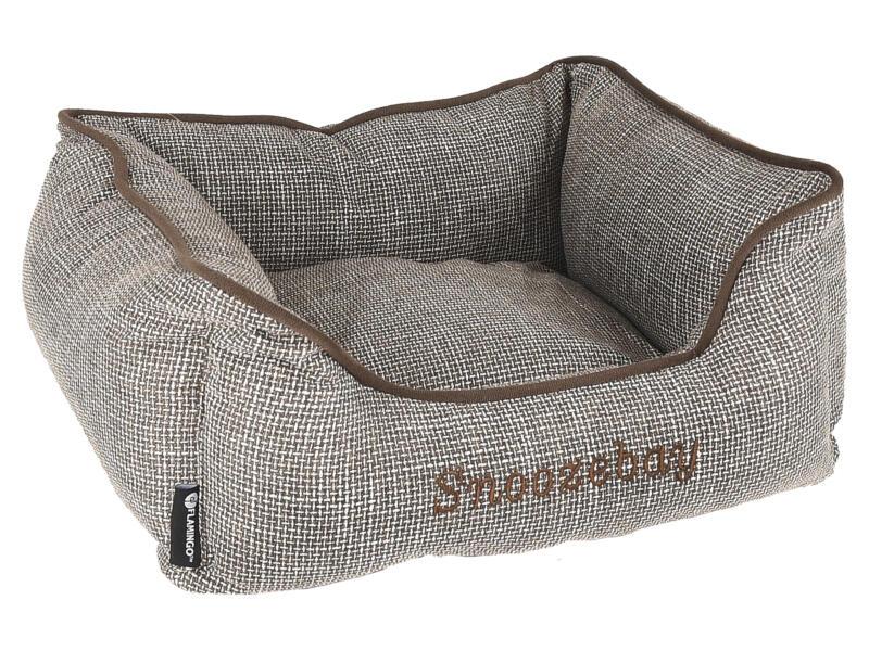 Snoozebay panier pour chien 50x40x18 cm brun