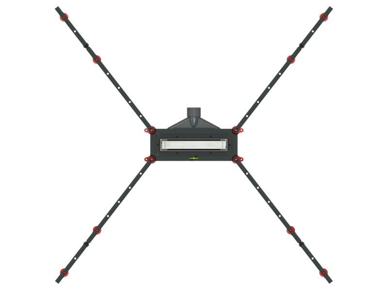 Wirquin SoLow caniveau de douche 210mm