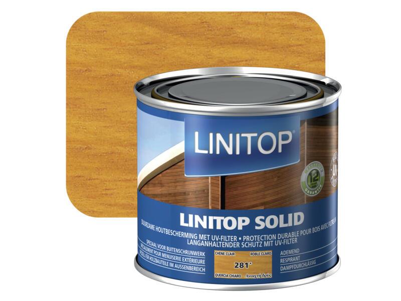 Linitop Solid beits Solid 0,5l lichte eik #281